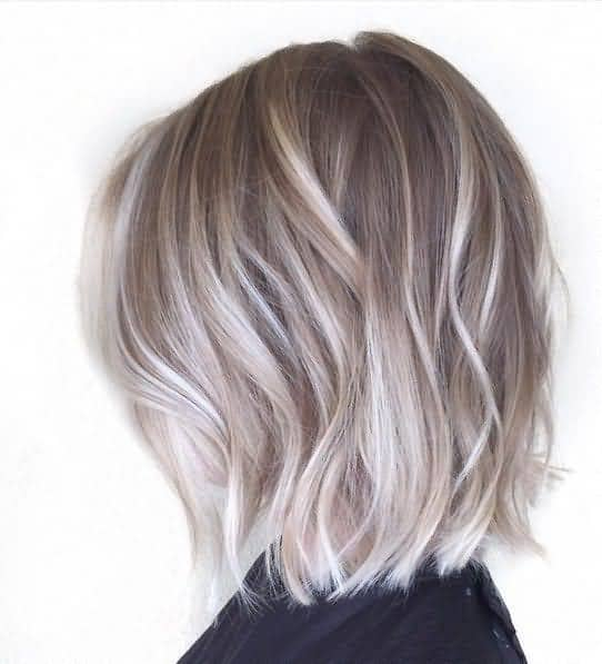 Edgy Cropped Blonde Balayage Bob