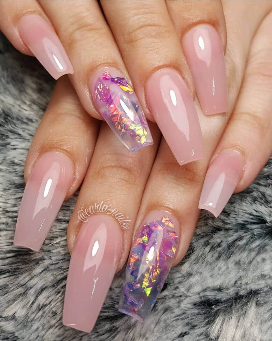 50 Awesome Coffin Nails Designs You'll Flip For In 2019