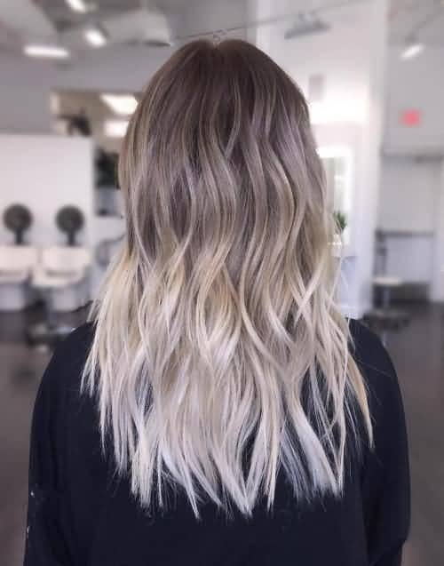 Long Ash Ombre Layers