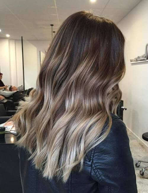 Long Dark Ombre Ash Waves