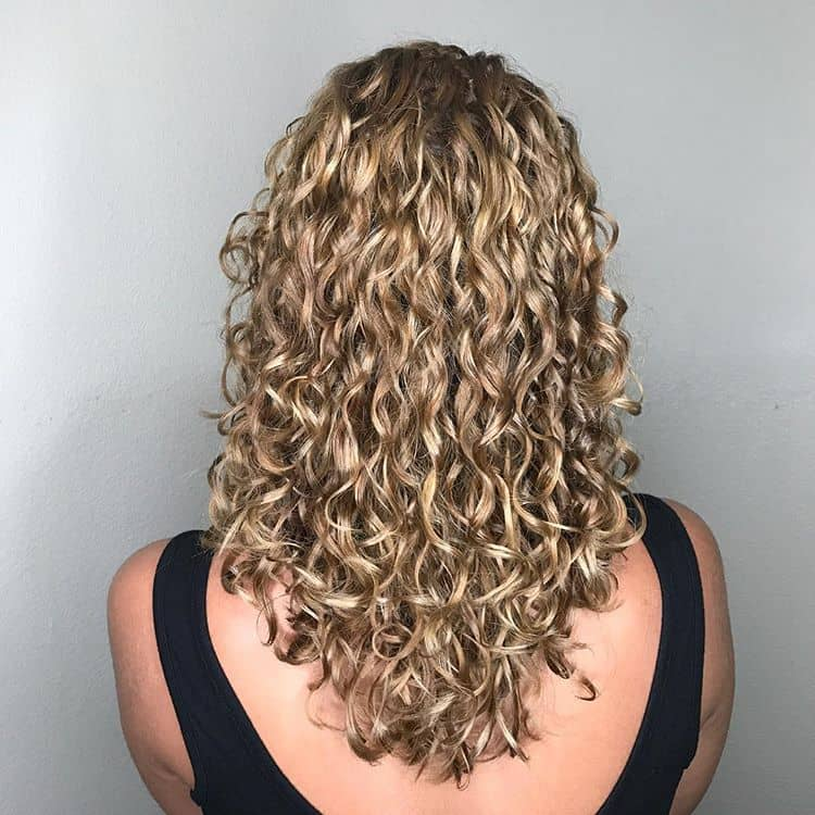 Coy And Subtle Long Curls