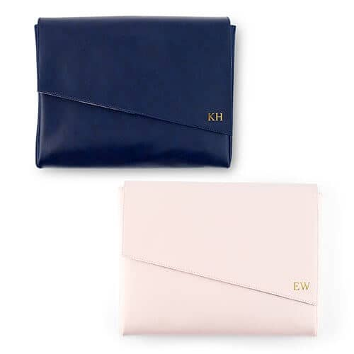 Fancifully Stylish Faux Leather Clutch