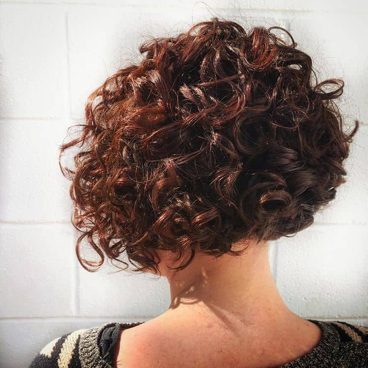 Tangle Of Short Vixen Curls