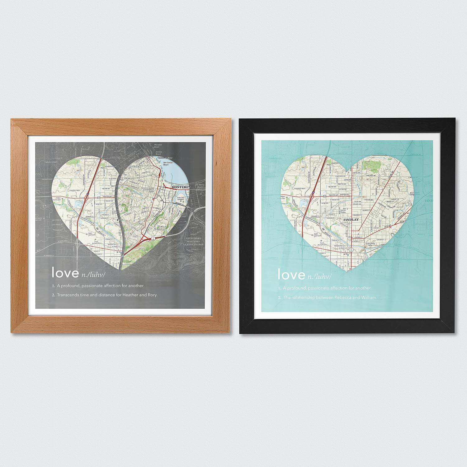 Definition of Love Wall Art