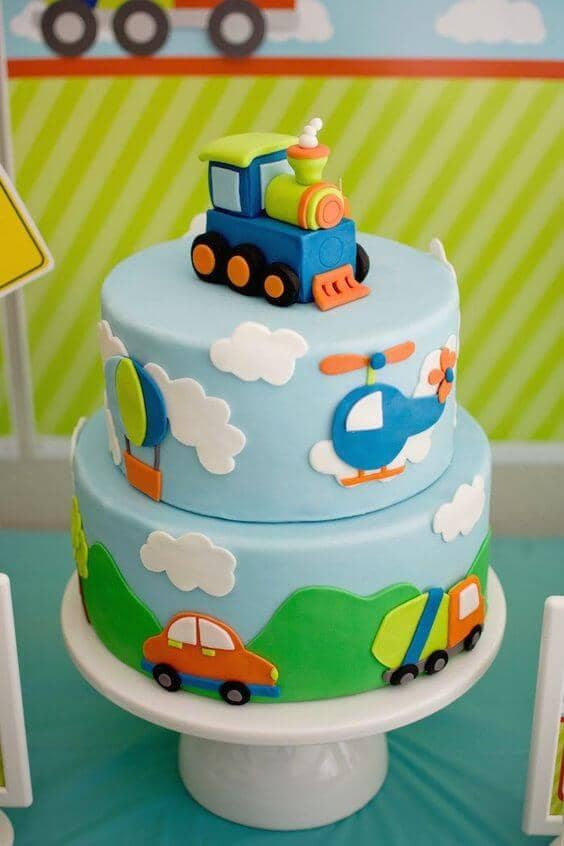 """On the Move Cake"" for Boys"