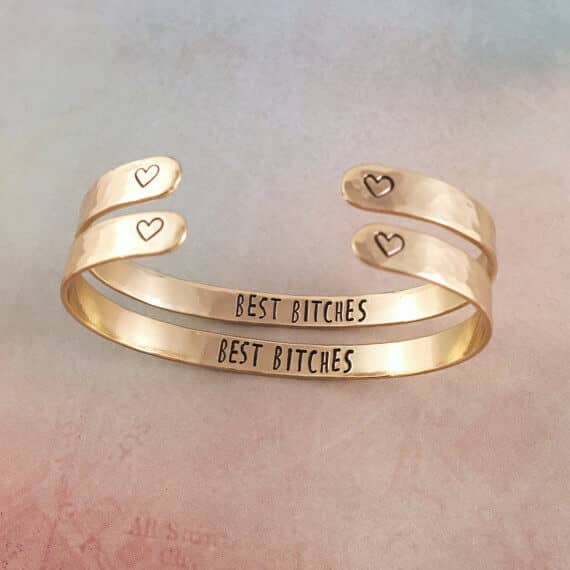 Matching Funny Best Friend Bracelets