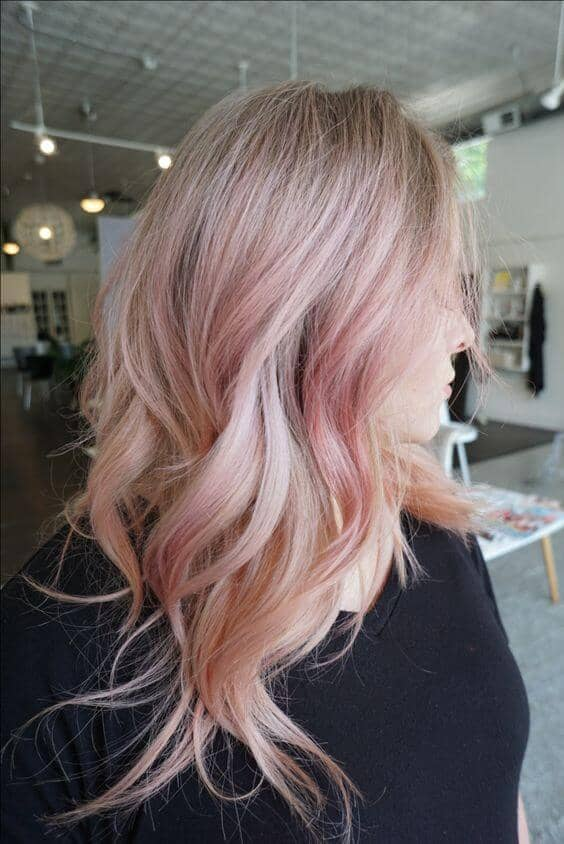 50 Irresistible Rose Gold Hair Color Looks For 2018