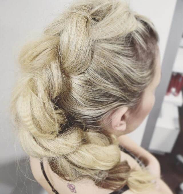 Romantic Updo Perfect for Special Occasions