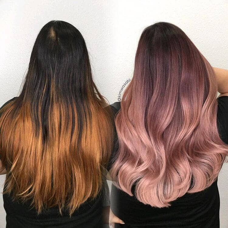 Rose Gold Color Correction Done Just Right