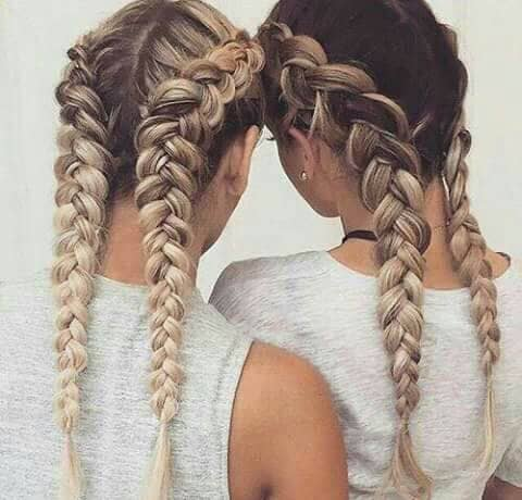 Examples of a 2 Braids Style