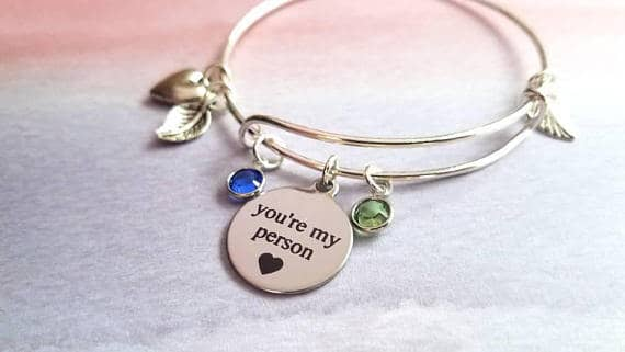 Stunningly Adorned and Personalized Bracelet