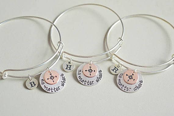 Amazing Long Distance Five Set Bracelets