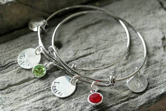 Adorable Birthstone Thelma and Louise Bracelets