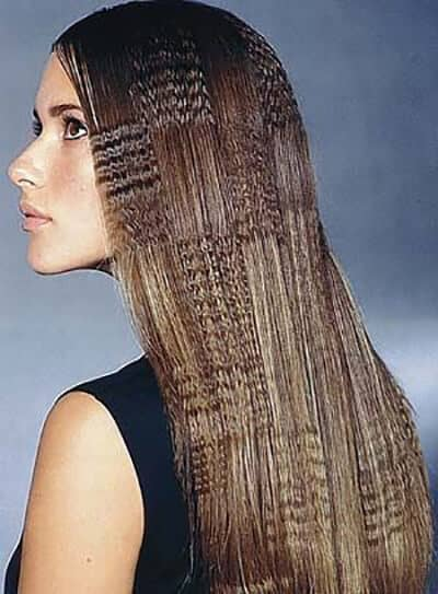 crimping hair style 50 crimped hair ideas that will make you feel daring 1322 | 43 unique crimped hair thecuddl 1