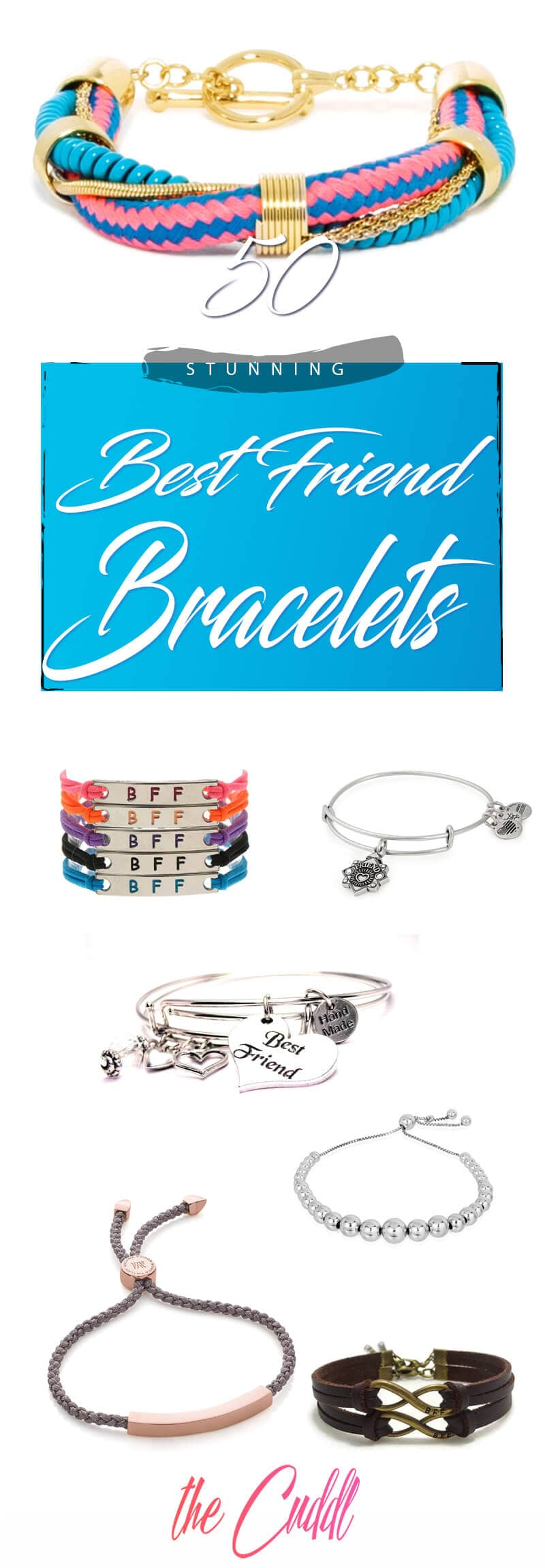 50 Stunning Best Friend Bracelets that will Steal Your Friend's Heart