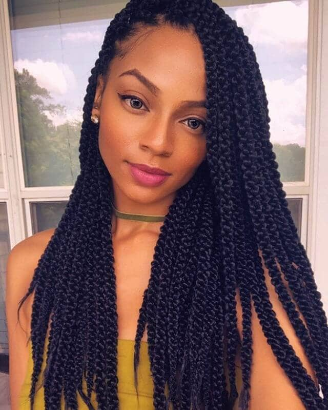 A Multitude of Long, Skinny braids