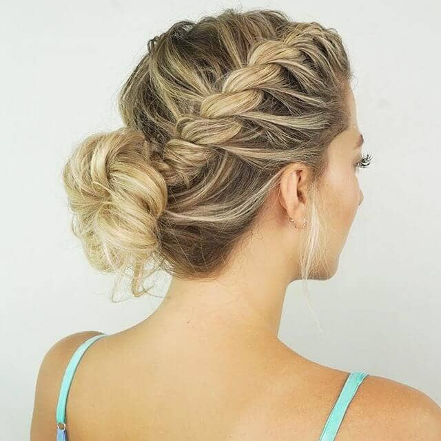 Cascading Twist Braids and Loose Bun