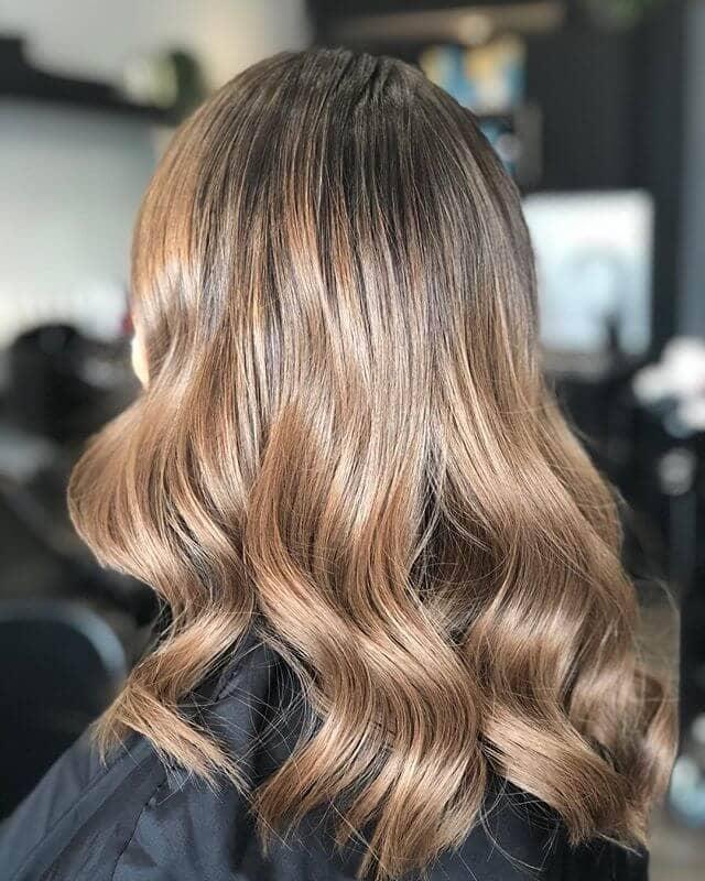 Schöne und lange lose Kupfer Curls