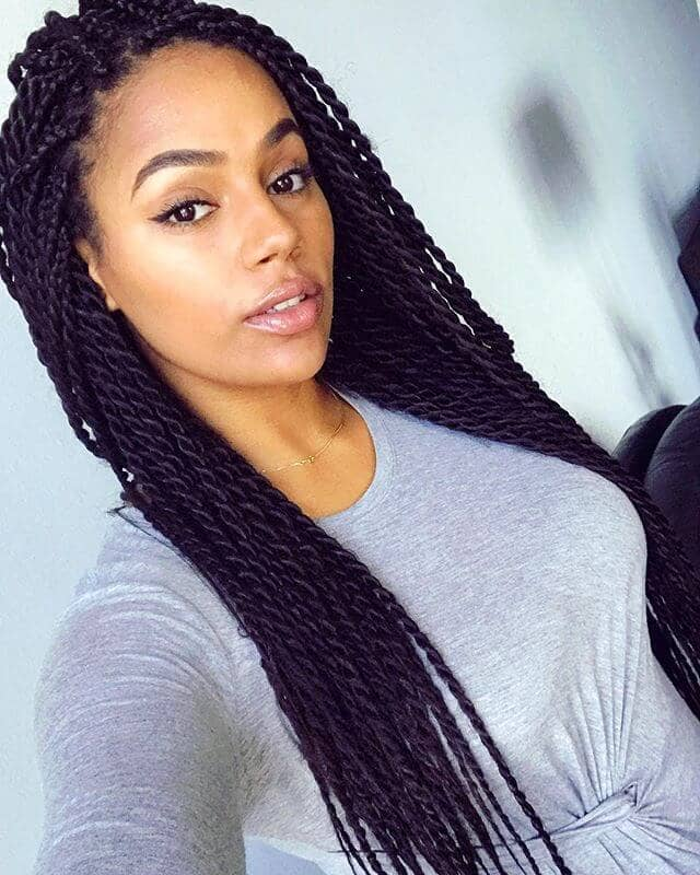 50 Beautiful Ways To Wear Twist Braids For All Hair Textures For 2019