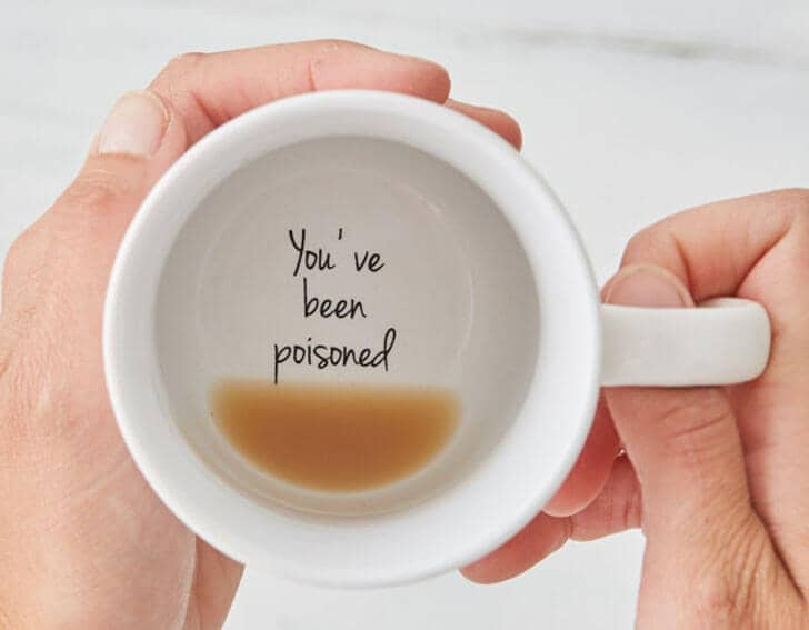 Fun Hidden Message Coffee Mug