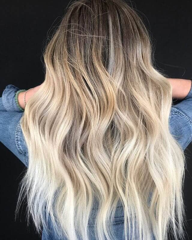 Ashe and Bleach Blonde Ombre