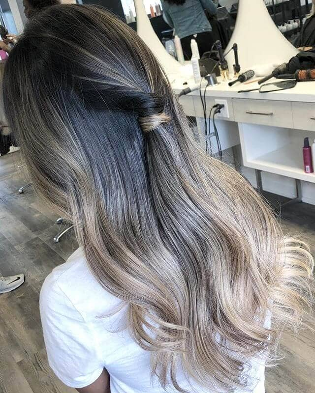 Sweet and Simple Half Twist for Long Locks