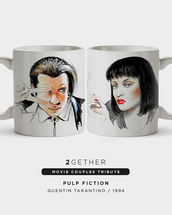 Movie Buff Coffee Cup