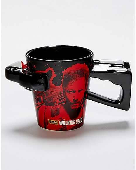 TV Show Crossbow Mug Design
