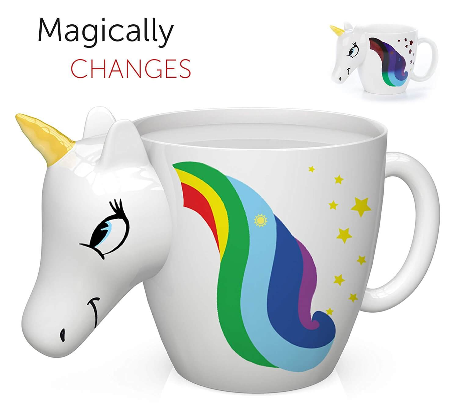 Unicorn Ceramic Coffee Cup Idea