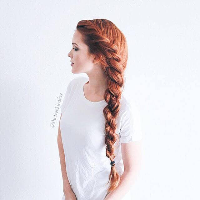 Beautiful Side Twist Braid for Thick Hair
