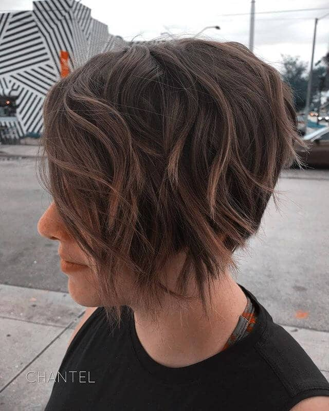 Long Pixie Cut For Wavy Hair