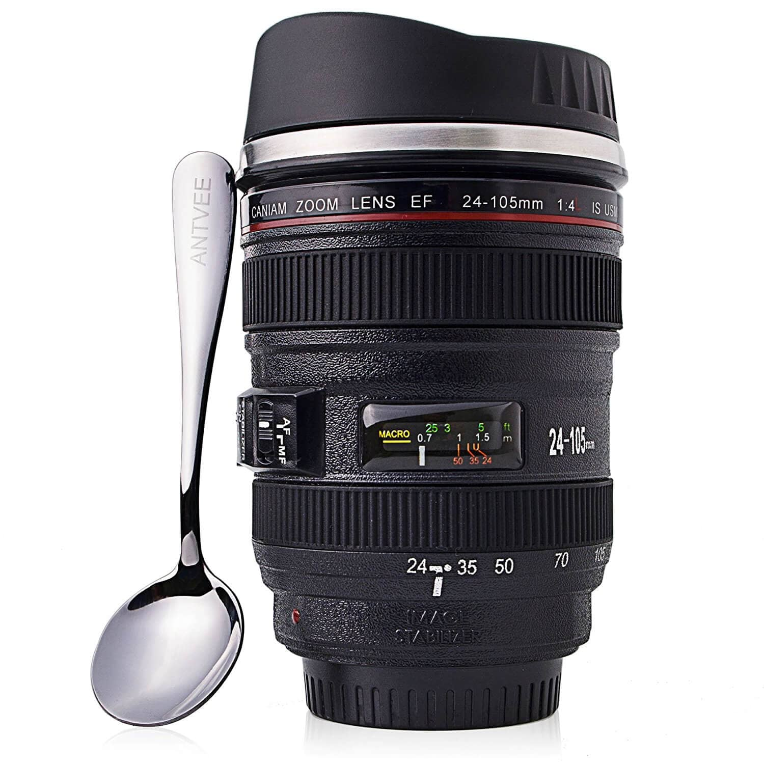 Photographer Lens Thermal Mug