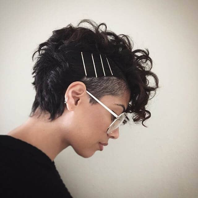 Multiple Clips And Short Sides With Long Fringe