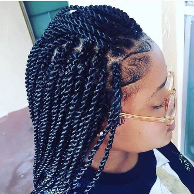 50 Beautiful Ways to Wear Twist Braids for All Hair Textures for 2018