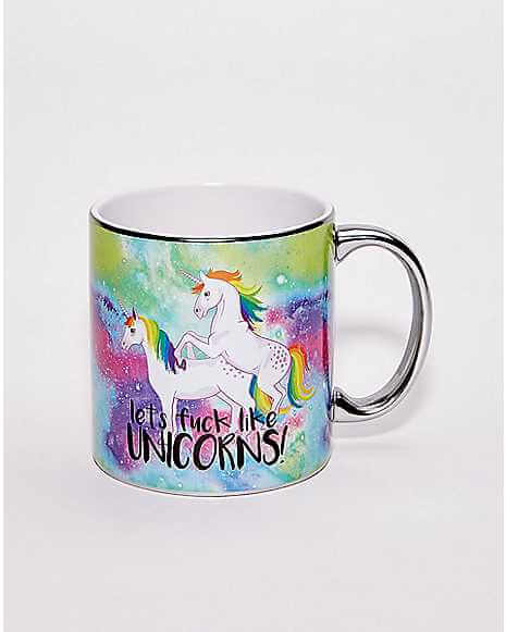 X-Rate Unicorn Silly Mug