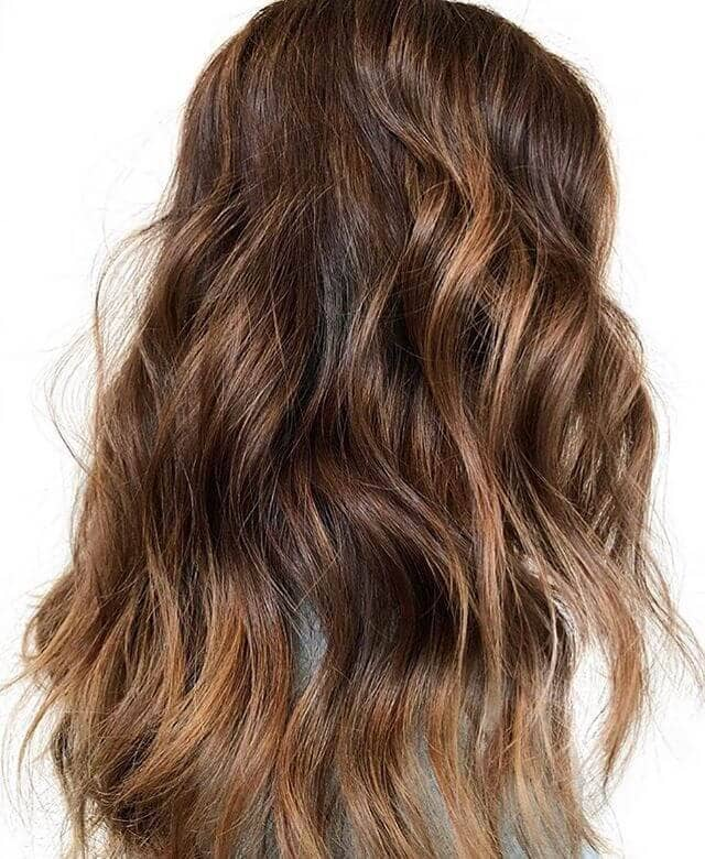 Simple Undone Auburn Waves