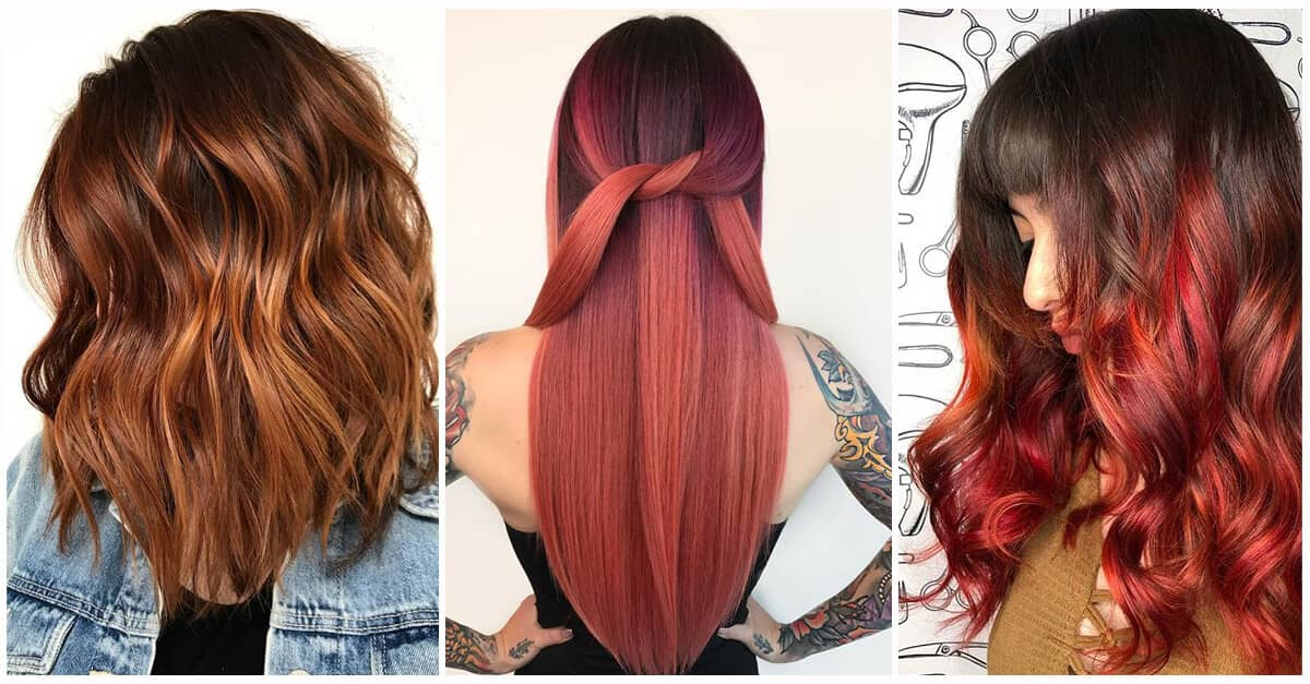 50 Breathtaking Auburn Hair Ideas To Level Up Your Look In 2018