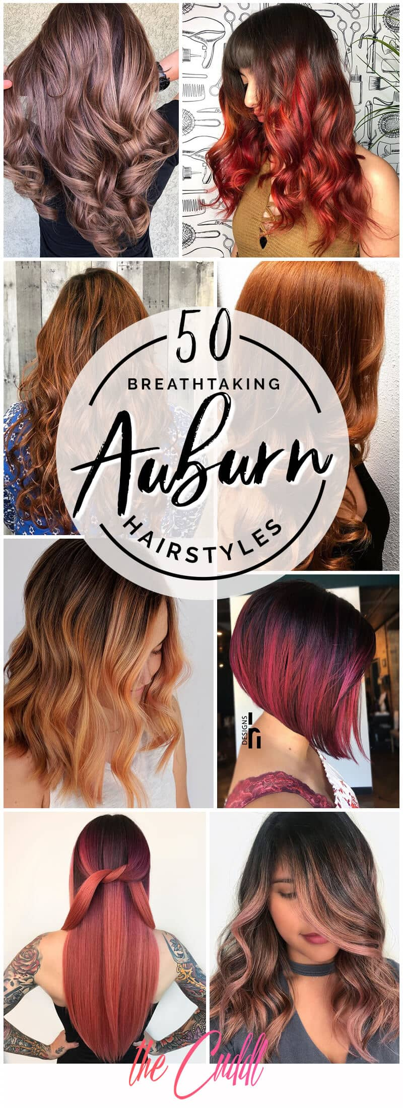 50 Breathtaking Auburn Hair Ideas To Level Up Your Look