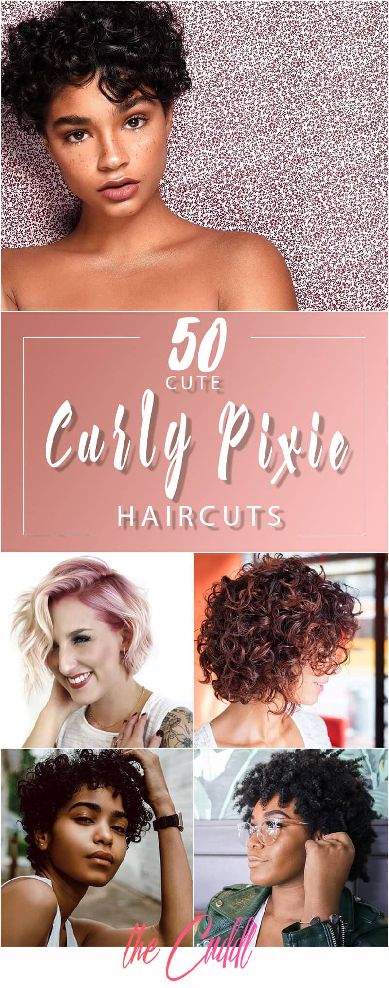 50 Bold Curly Pixie Cuts To Transform Your Style