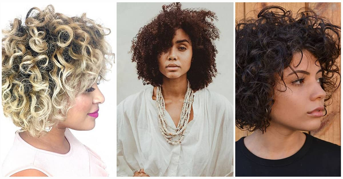 Short Curly Hair Ideas To Step Up Your Style Game In