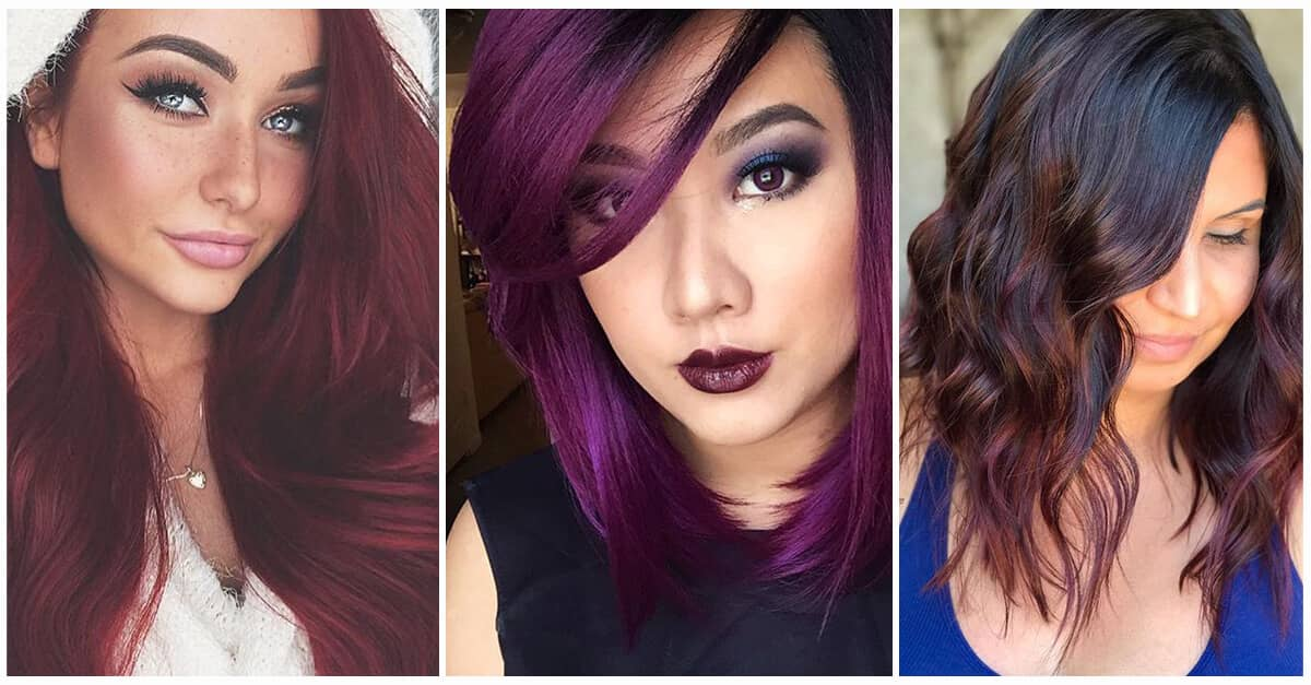 50 Hot Shades Of Burgundy Hair To Rock Fall Of 2018