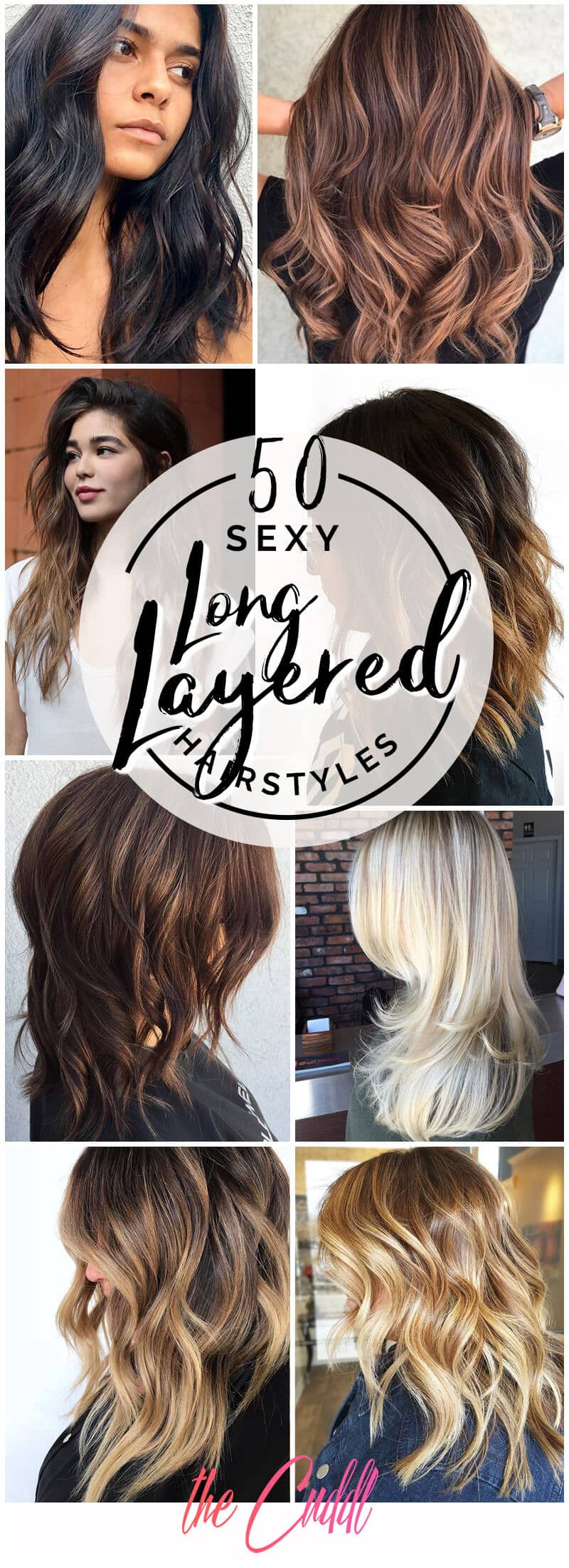 50 Sexy Long Layered Hair Ideas To Create Effortless Style In 2019