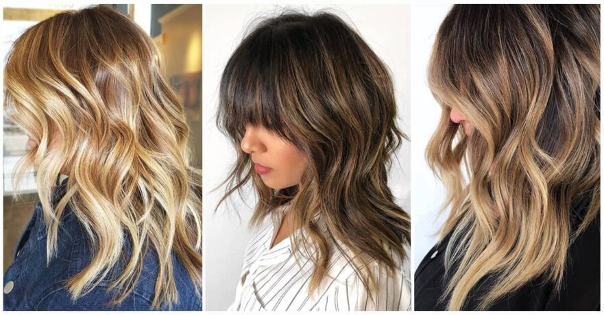 Sexy layered hairstyle