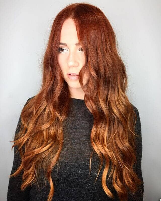 Gorgeous Ginger Beach Wave Babe