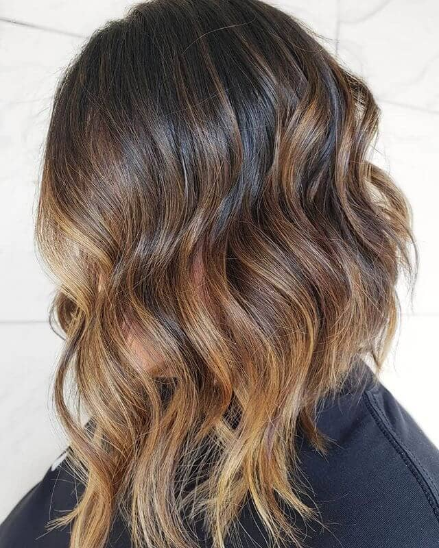 Caramel Blonde Hair with Sunny Tips