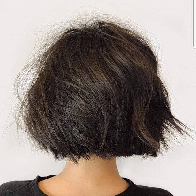 Swept Away By A Dark Brown Bob