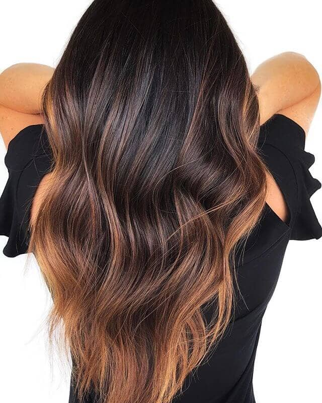 Easy Breezy Fall Hair Color Idea
