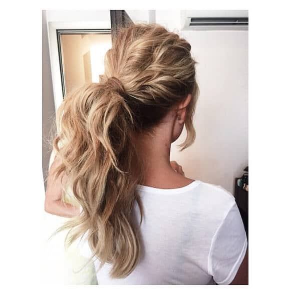 Ravishing Rippled Ponytail Twist and Wrap