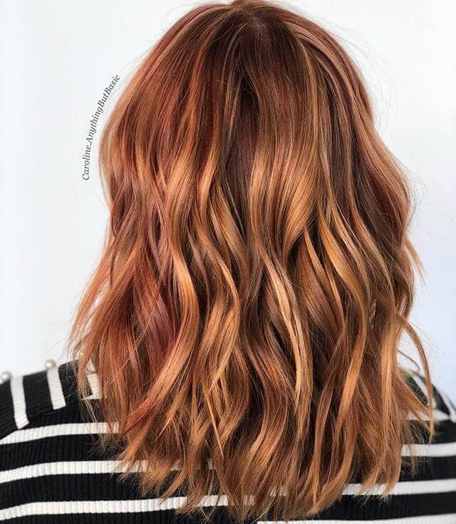 Feisty, Fiery Fall Hair Colors