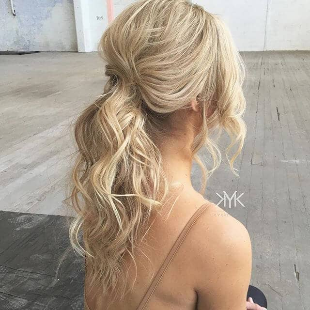 Hidden Beginning Barely There Ponytail Hair